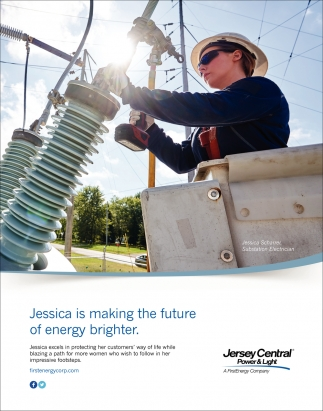 Jessica Is Making The Future Of Energy Brighter