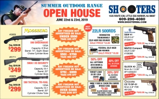 Summer Outdoor Range Open House