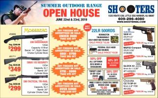 Summer Outdoor Range Open House