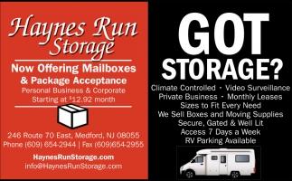 Got Storage?