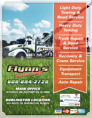 Light Duty Towing & Road Service