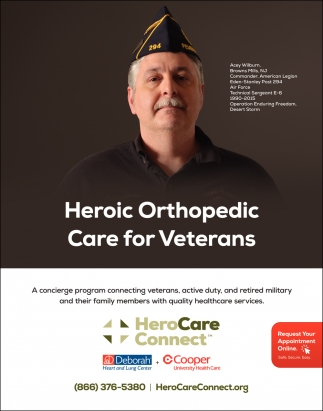 Heroic Orthopedic Care For Veterans