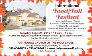 International Food/Fall Festival