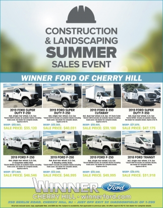 Construction & Landscaping Summer Event
