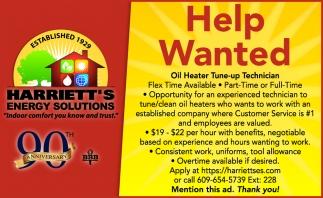 Oil Heater Tune-Up Technician