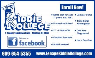 Enroll Now!