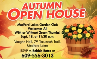 Autumn Open House