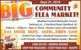 Big Community Flea Market!
