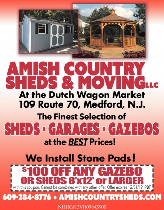 Sheds - Garages - Gazebos