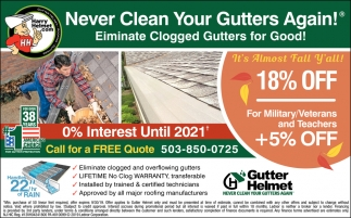 Never Clean Your Gutter Again
