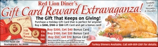 Gift Card Reward Extravaganza!