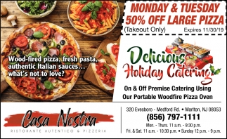 Delicious Holiday Catering
