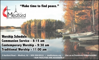 Make Time To Find Peace