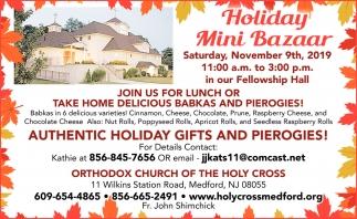 Holiday Mini Bazaar