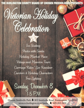 Victorian Holiday Celebration