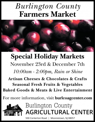 Burlington County Farmers Market