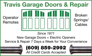 New Garage Doors + Electric Openers