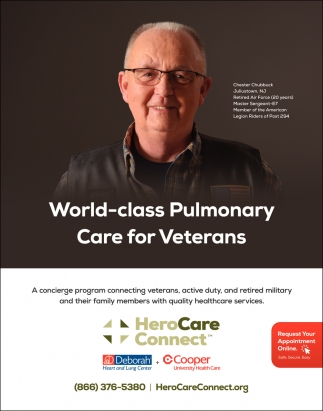 World-Class Pulmonary Care For Veterans