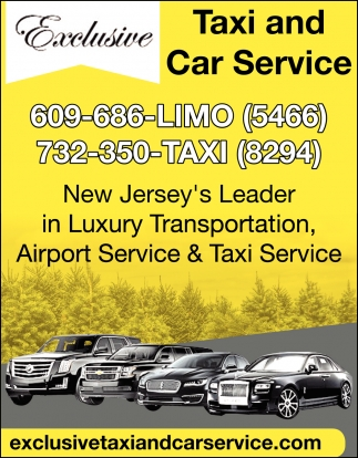 New Jersey's Leader In Luxury Transportation