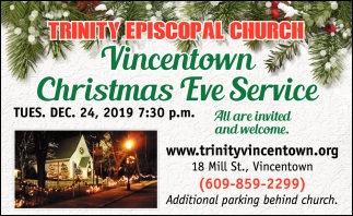 Vincentown Christmas Eve Service