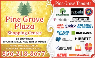 Retail Space Available! , Pine Grove Plaza Shooping Center ...