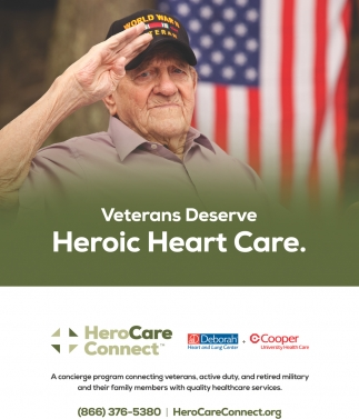 Veterans Deserve Heroic Heart Care.