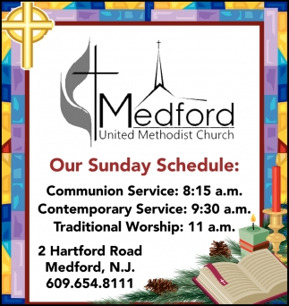 Our Sunday Schedule
