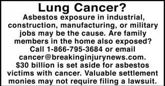 Lung Cancer?