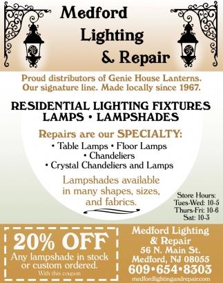 Residential lighting fixtures medford lighting repair medford nj