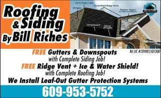 Gutters & Downspouts