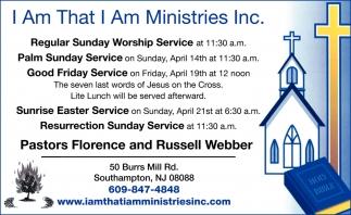 Regular Sunday Woship Service
