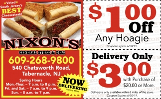 Now Delivering