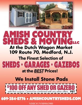 Sheds - Garages - Gazebos