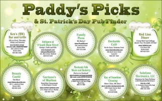 Paddy's Picks
