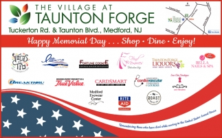Happy Memorial Day... Shop, Dine, Enjoy!